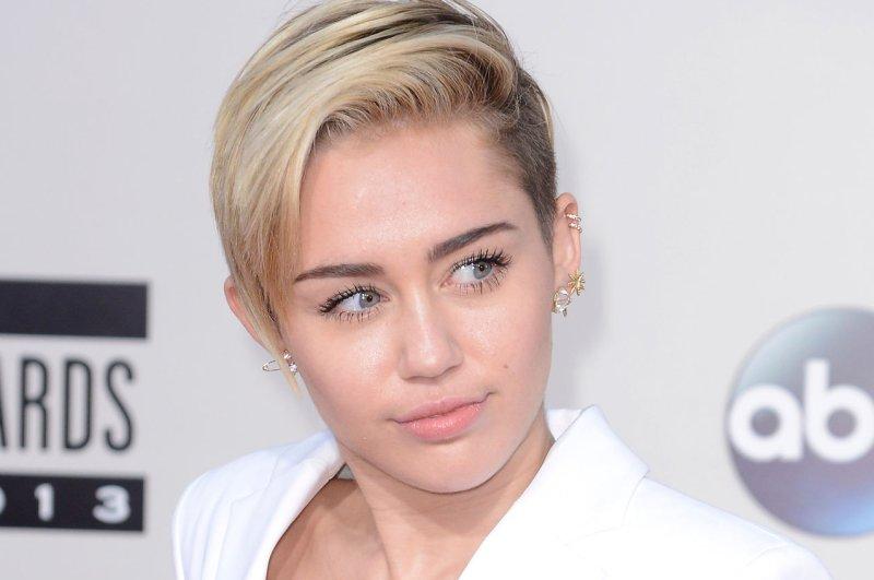 Recording artist Miley Cyrus. UPI/Phil McCarten