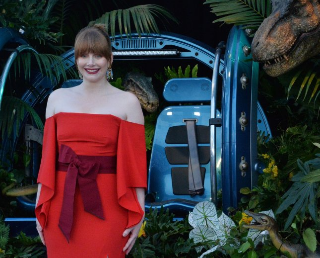 Bryce Dallas Howard is Hasty Pudding Woman of the Year. Photo by Jim Ruymen/UPI