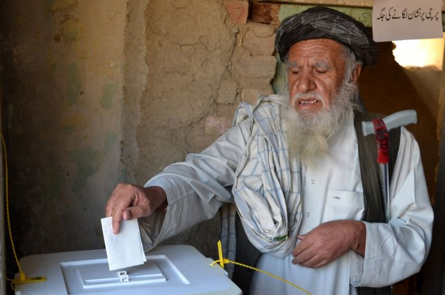 Afghanistan will have elections on Sept. 28 and the United States contributed $29 million toward the effort. Photo by Maiullah/UPI