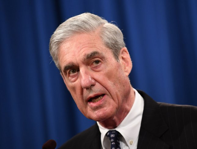 The Departement of Justice told special counsel Robert Mueller that his testimony before a pair of House committees on Wednesday should be limited to his public report. Photo by Kevin Dietsch/UPI