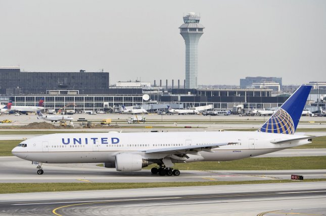 An airline computer security expert had his electronic equipment confiscated by the FBI last month after he exited a United Airlines flight in Syracuse, N.Y. The seizure followed a tweet that suggested the man may have attempted to hack into a Boeing 737's in-flight entertainment systems during a flight from Denver to Chicago, the FBI said. File Photo: UPI/Brian Kersey