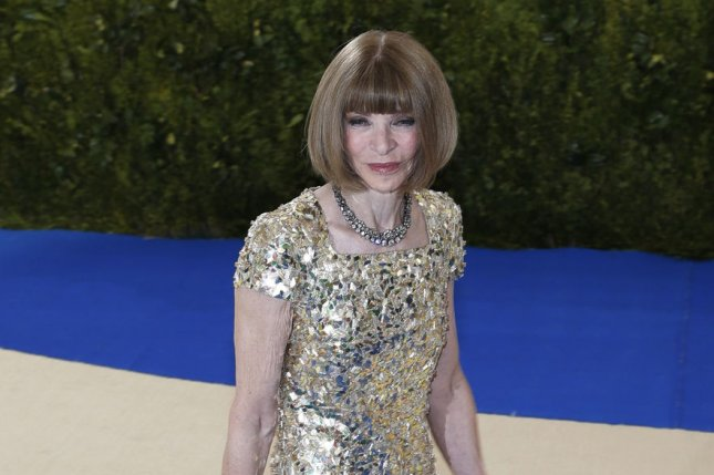 Vogue editor-in-chief Anna Wintour arrives on the red carpet at the Costume Institute Benefit at The Metropolitan Museum of Art in New York City on May 1. Bravo is working on a drama series about Wintour and Tina Brown. Photo by John Angelillo/UPI