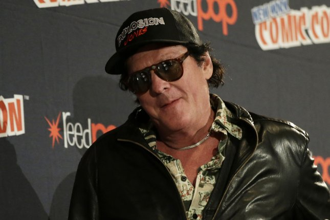 Michael Madsen released online this weekend a Reservoir Dogs-style, social-distancing video. File Photo by John Angelillo/UPI