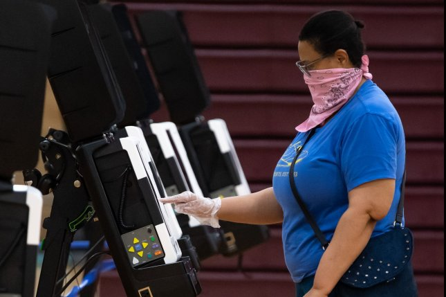 The 2020 state legislative elections will be decisive of who will control the redistricting process and what congressional elections will look like for the next decade. File Photo by Kevin Dietsch/UPI