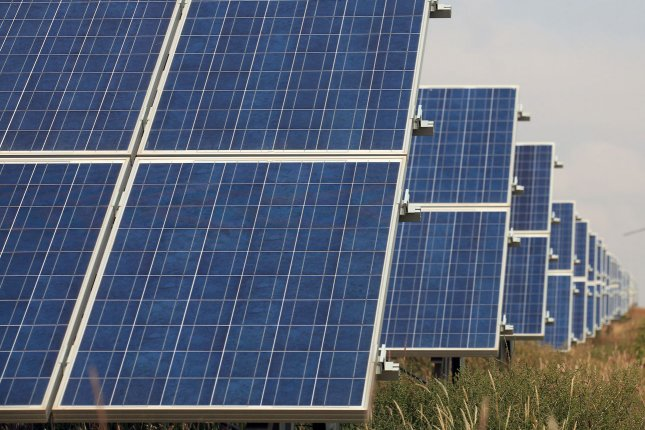 Virgin Islands closer to renewable energy target with solar power operations. UPI/Stephen Shaver