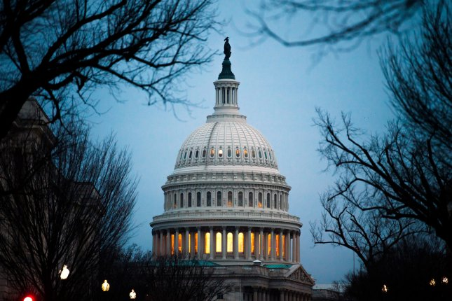 Some 130 Republicans broke ranks with the Trump administration Thursday to disapprove of a plan to ease sanctions on Russian-linked companies. Photo by Kevin Dietsch/UPI