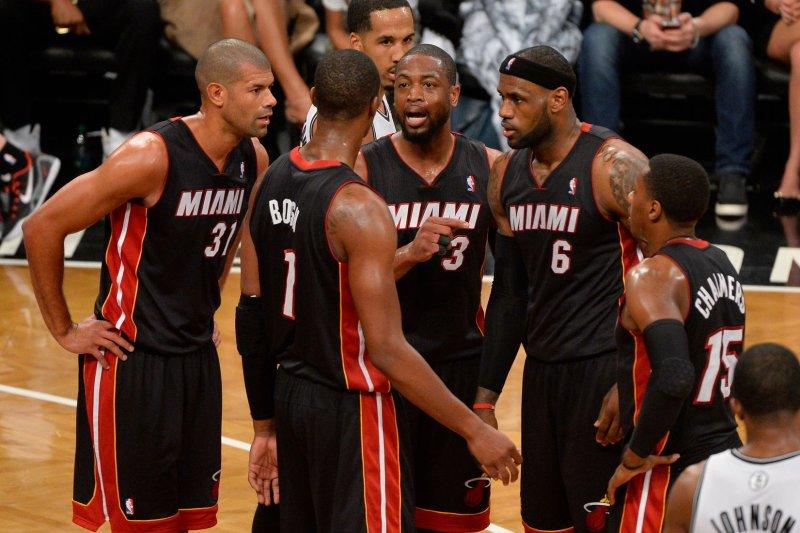 detailed look b7f3c eb160 Miami Heat championship team no more: Chris Bosh released as ...