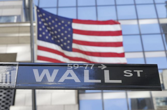 The Dow fell by 533 points Friday as investors faced fears of coming interest rate hikes and quadruple witching day. File photo by John Angelillo/UPI
