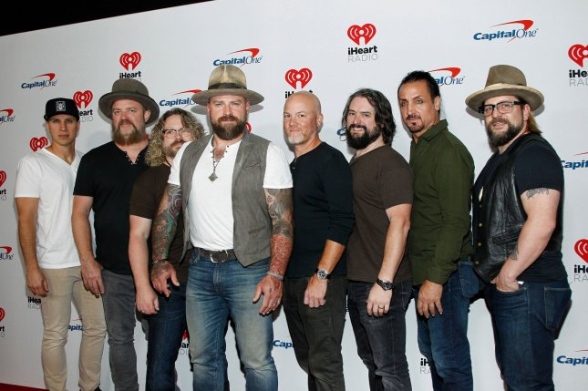 Zac Brown Band released Old Love Song and Out in the Middle, two songs co-written with Luke Combs. File Photo by James Atoa/UPI