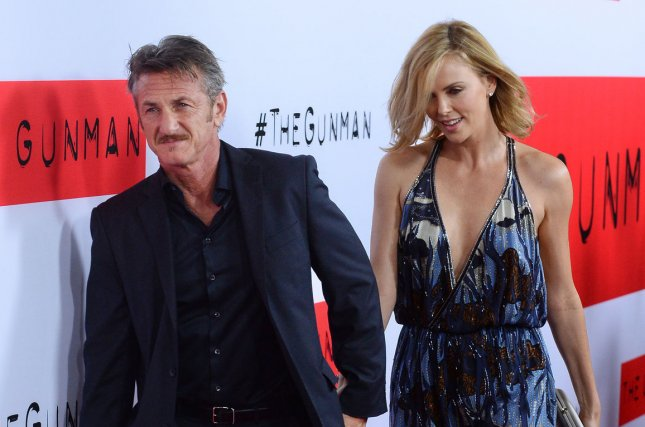 Charlize Theron (R) and boyfriend Sean Penn have been linked since January 2014. File photo by Jim Ruymen/UPI