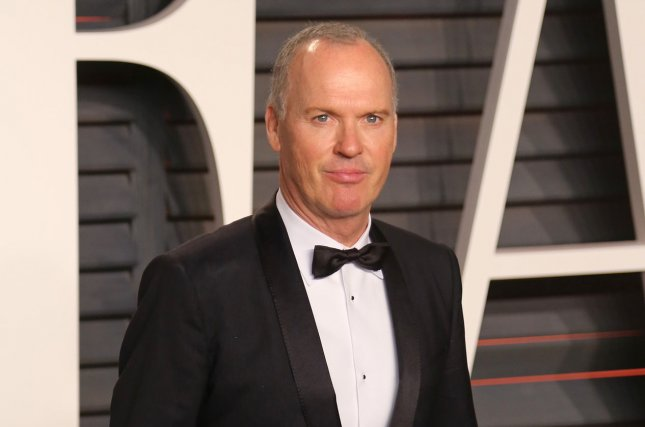 Michael Keaton attends the 2016 Vanity Fair Oscar Party at the Wallis Annenberg Center for the Performing Arts in Beverly Hills on February 28, 2016. Photo by David Silpa/UPI