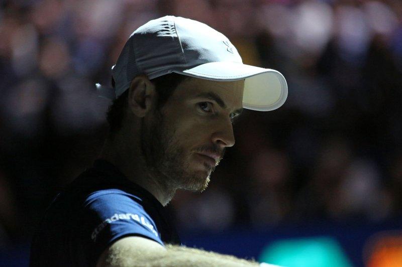 Briton Andy Murray. Photo by David Silpa/UPI