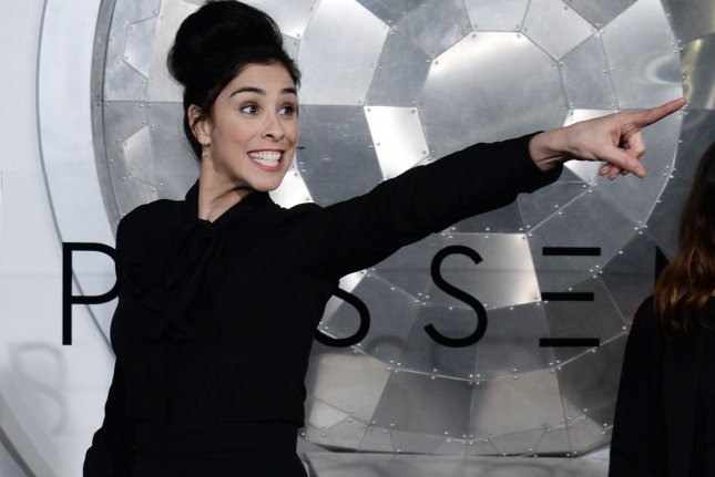 Comedian Sarah Silverman attends the premiere of the sci-fi motion picture Passengers in Los Angeles on December 14, 2016. Silverman is to star in a new chat show for Hulu. File Photo by Jim Ruymen/UPI