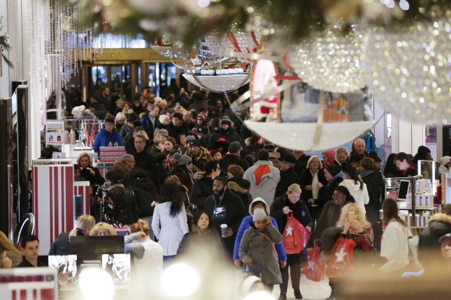 The National Retail Federation expects consumers to spend $720.89 billion this holiday season, an increase of more than 4 percent over 2017. Photo by John Angelillo/UPI