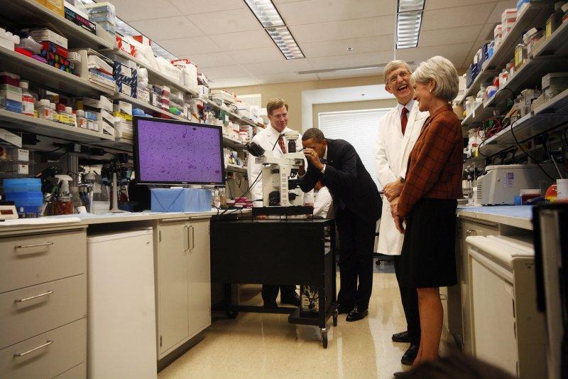 TSPO ligands, used for neuroimaging, may prevent Alzheimer's. UPI/Aude Guerrucci/POOL