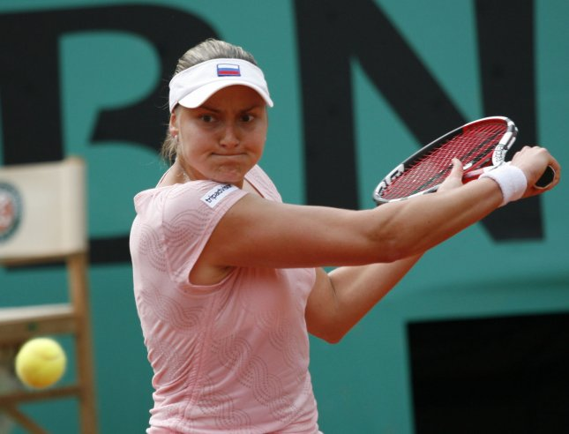 Russian Nadia Petrova, shown at the French Open May 31, 2008. (UPI Photo/ David Silpa)