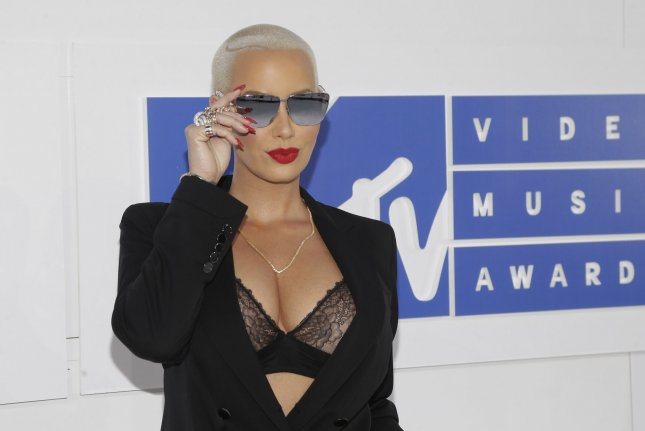 Amber Rose at the MTV Video Music Awards on August 28. File Photo by John Angelillo/UPI