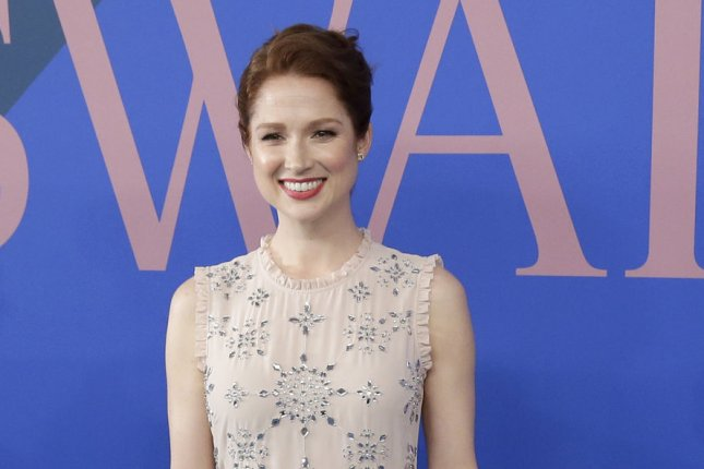 Unbreakable Kimmy Schmidt star Ellie Kemper arrives on the red carpet at the 2017 CFDA Fashion Awards on June 5 in New York City. Photo by John Angelillo/UPI