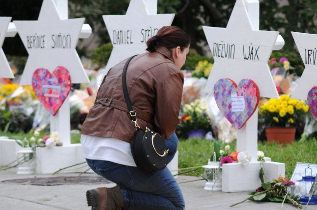 The gun-control legislation came five months after a gunman used a Colt AR-15 semi-automatic rifle to kill 11 people at a Pittsburgh synagogue. File Photo by Archie Carpenter/UPI