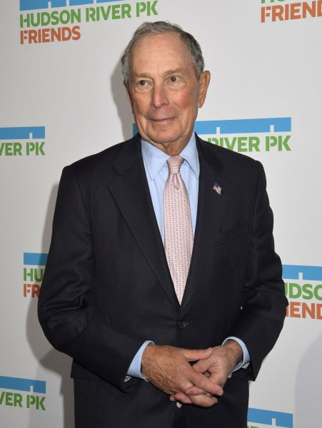 Michael Bloomberg's adviser said he plans to skip the first four primaries of the year. Photo by Louis Lanzano/UPI
