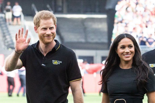 Prince Harry and Meghan Markle, the Duke and Duchess of Sussex, have announced they will step back from royal duties. File Photo by Mark Thomas/UPI