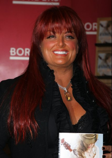 Wynonna Judd signs copies of her new book Restless Heart at Borders Books and Music at Time Warner Center in New York on January 25, 2011. UPI /Laura Cavanaugh