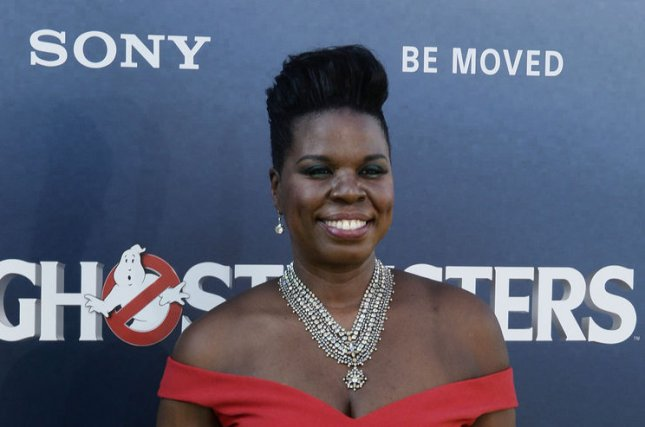 Leslie Jones attending the premiere of Ghostbusters on July 9, 2016. The hack of Jones' website is now being investigated by Homeland Security. File Photo by Jim Ruymen/UPI