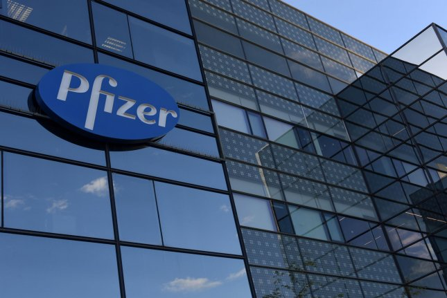 Pfizer, the first company to receive FDA emergency approval for a COVID-19 vaccine, is now working on an oral antiviral medication to treat the disease caused by the virus. File Photo by Debbie Hill/UPI