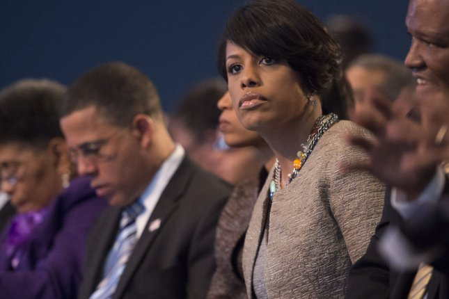 Baltimore Mayor Stephanie Rawlings-Blake says she regrets using the word thugs to describe the young people involved in this week's riots. File Photo by Kevin Dietsch/UPI