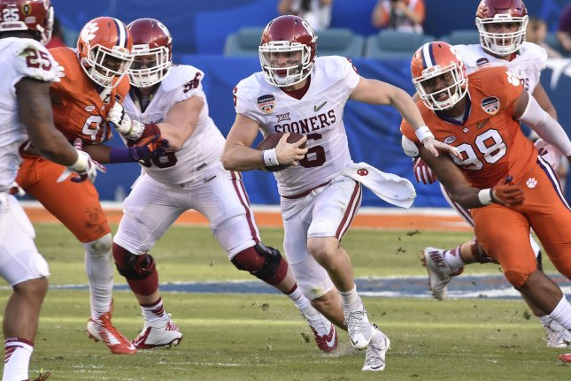 1227437d0 Oklahoma Sooners QB Baker Mayfield arrested - UPI.com
