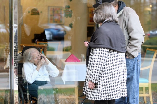 Older adults connected with friends and family online more during the pandemic, which a new study showed reduced low mood for socially isolated older adults. File Photo by Bill Greenblatt/UPI