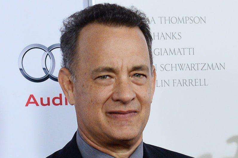 Tom Hanks. UPI/Jim Ruymen
