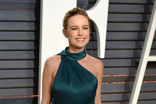 Brie Larson attends the Vanity Fair Oscar Party on February 26. Larson stars alongside Tom Hiddleston and John C. Reilly in the final trailer for Kong: Skull Island. Photo by Christine Chew/UPI
