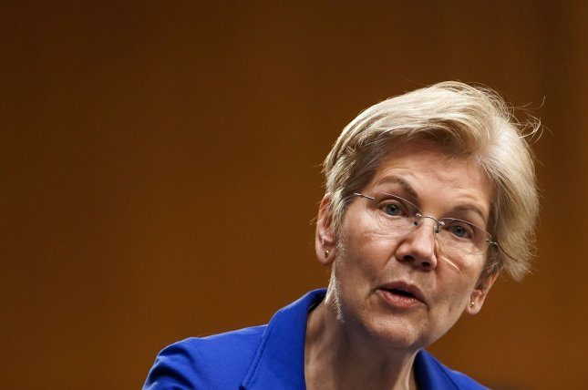 Sen. Elizabeth Warren and other Democrats introduced the Ultra-Millionaire Tax Act which would implement a 3% tax on wealth exceeding $1 billion. Pool Photo by Greg Nash/UPI