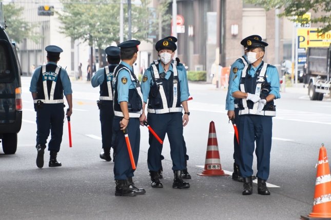 Police in northern Japan were notified of a bear's presence in the city of Sapporo on Friday. File Photo by Keizo Mori/UPI