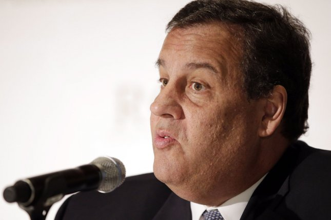 New Jersey Governor Chris Christie speaks at the Republican Governors Association's quarterly meeting at the Waldorf Astoria in New York City on May 21, 2014. UPI/John Angelillo