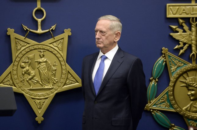 United Sates Defense Secretary James Mattis said there was no need to increase U.S. military presence in the Middle East despite calling Iran the single biggest state sponsor of terrorism in the world. Iran's Revolutionary Guards' Sepahnews website said the country will test fire ballistic missiles after President Donald Trump issued sanctions against 12 people and 13 entities following tests earlier in the week. Mattis said it is important to address Iran's misconduct and misbehavior, but it would not require increased military forces. Photo by Olivier Douliery/Abaca