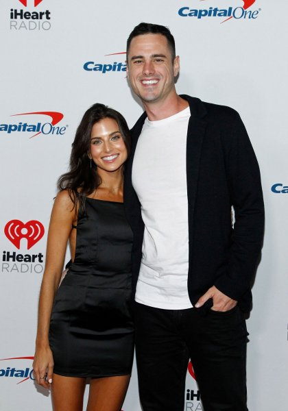 Jessica Clarke and Ben Higgins announced their engagement this weekend. File Photo by James Atoa/UPI