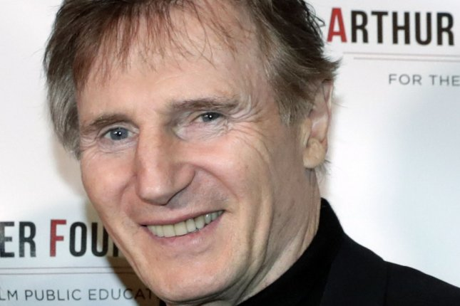 Liam Neeson's 94-year-old mother Kitty has died. File Photo by Jason Szenes/UPI