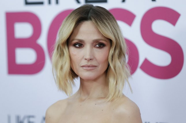 Rose Byrne leads the '80s aerobics craze in Apple TV+'s series Physical. File Photo by John Angelillo/UPI