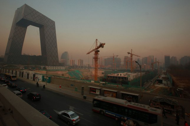 Though a new study classified China and its cities as developing, the nation's largest cities emit as much greenhouse gas as the largest cities in more developed parts of the world, including Europe and North America. File Photo by Stephen Shave/UPI