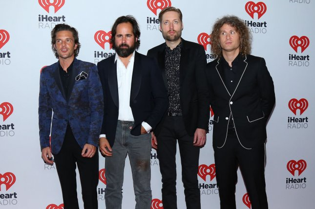 The Killers will release a new album, Pressure Machine, and kick off a North American tour in August. File Photo by James Atoa/UPI