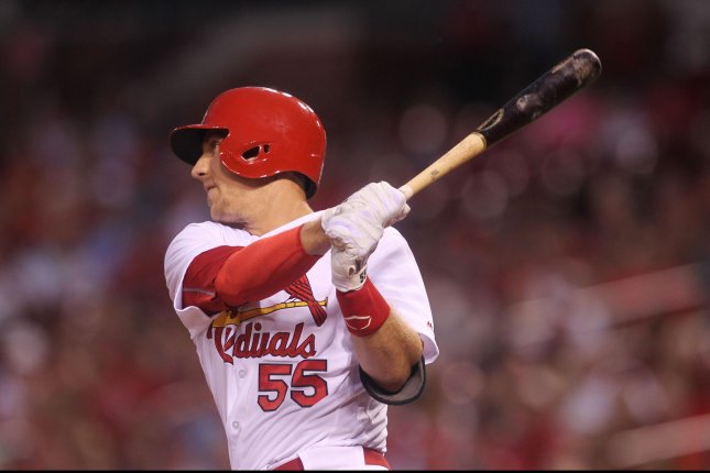 After a body-pounding inning, Cardinals' Piscotty is fine