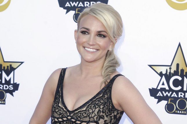 Jamie Lynn Spears shared a cute picture with Jamie Watson and daughters Maddie and Ivey. File Photo by John Angelillo/UPI