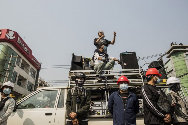 An activist in Myanmar who worked for democratization for decades died after being taken into custody, his family has said, according to a local press report. File Photo by Xiao Long/UPI