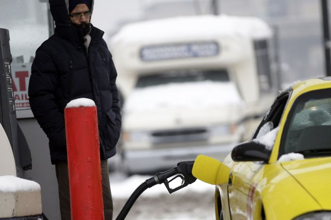 Fuel prices in the second week of January saw the first net average fuel pump price increase, according to the AAA. Photo by John Angelillo/UPI