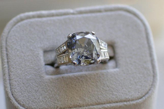 A New York state woman was reunited with her engagement ring two months after she lost it in the parking lot of a golf course. File Photo by John Angelillo/UPI