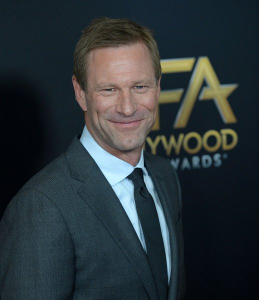Actor Aaron Eckhart's Midway is the No. 1 movie in North America this weekend. File Photo by Jim Ruymen/UPI
