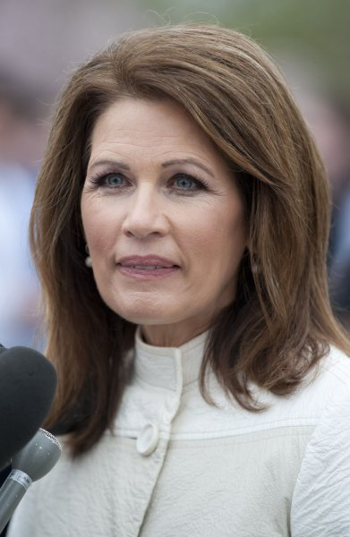 Rep. Michele Bachmann (R-MN) speaks on repealing the health care reform bill at a press conference on repeal of the bill on Capitol Hill in Washington, D.C. on March 21, 2012. UPI/Kevin Dietsch
