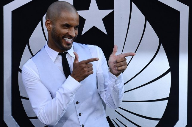 Actor Ricky Whittle attends the premiere of the sci-fi motion picture Pacific Rim in Los Angeles on July 9, 2013. His new show American Gods debuts on Starz on April 30. File Photo by Jim Ruymen/UPI